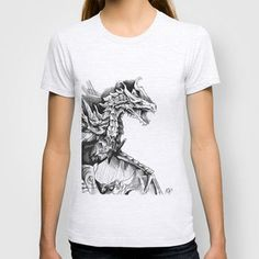 Alduin, the World Eater T-shirt by ArtisticCole   Society6