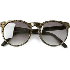 VINTAGE SHADES 'Pantos' Lafonte model sunglasses (€190) ❤ liked on Polyvore featuring accessories, eyewear, sunglasses, glasses, óculos, oversized glasses, over sized sunglasses, oversized round sunglasses, round sunglasses and round frame sunglasses