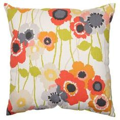 Poppy Pillow in Red