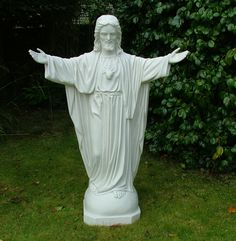 Large Garden Statues - Religious Jesus Sculpture. Buy now at http://www.statuesandsculptures.co.uk/large-garden-statues-religious-jesus-sculpture