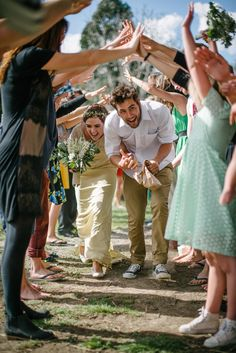 Josh & Liss // Little River Wedding — The Woods Photography