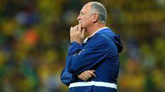 Head coach Luiz Felipe Scolari of Brazil