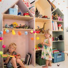 Les objets déco en forme de maison envahissent les chambres d'enfant | DecouvrirDesign
