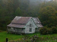 Old Appalachian Mountain homestead.