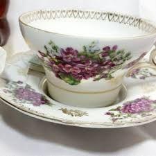 Bildergebnis für hand blown glass Tea Cup and Saucer