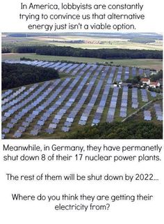Solar energy (I was there in the early 90's & was pleased to find the country so clean and that recycling was already in full swing and made sense the way they were doing it.)