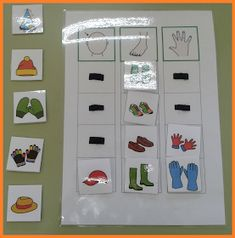 matrix categories by therapics Autism Activities, English Activities, Educational Activities, Learning Activities, Preschool Activities, Kids Education, Special Education, File Folder Activities, Montessori Toddler