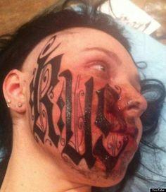 tatuaje mal hechos