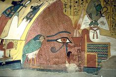 Tomb of Pashedu, Servant in the Place of Truth, Deir el-Medina, Egypt, reigns of Seti I and Ramesses II, 13th cent. BC