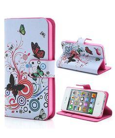 iPhone 4/4S Vlinder Stand Case