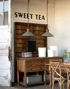 Metal Farmhouse Light, I LOVE this! I want two to go over a long farmhouse table!