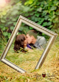 Cute Engagement Pic Idea except everyone is doing this...