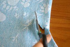 Nähtipp: Ein T-Shirt ohne Schnittmuster nähen – Yingdesign.ch – Bio Stoffe für Künstlerinnen Fashion, Shirt Sewing Patterns, Moda, Fashion Styles, Fashion Illustrations