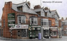 Wine And Spirits, Leicester, Old Houses, Nostalgia, Old Things, History, Architecture, Arquitetura, Historia