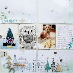 Hey, Hey! I have finished my 2016 album! Take a look...     And here is a couple shots of the December pocket page:        It feels good to...