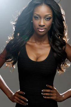 Dark skinned women are so very beautiful