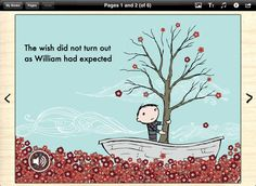 Book Creator for iPad ($4.99) simple way to create your own beautiful iBooks, right on the iPad.  Read them in iBooks, send them to your friends, or submit them to the iBookstore.  * Choose from portrait, landscape or square books.  * Quickly add pictures from the Photos app, or grab them from the web, then move, resize and rotate them with your fingers.  * Import video and music, and record speech within the app.