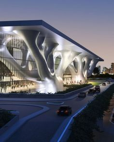 yamasaki architects - QATAR convention center