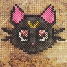 Sailor Moon mini perler beads by  kryhs