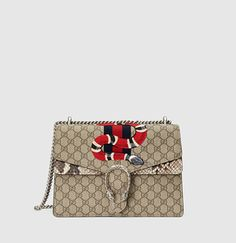 Gucci - sac dionysus en toile suprême GG brodée 400235KWZXN9750  Accessoires, Sacs, Sacs À 60cf705fdd5