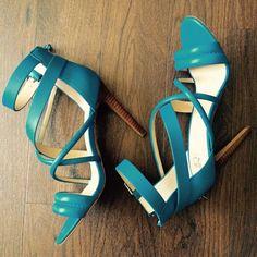 "Joes 'Robbie' strappy blue heels Joes 'Robbie' blue strappy heels. Worn once! So gorgeous - just too high for me! Heel height: 3.75"" Joe's Jeans Shoes Heels"
