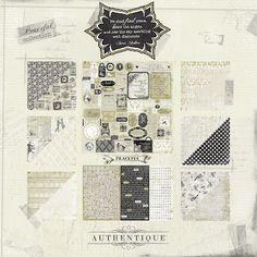 AUTHENTIQUE PAPER Peaceful collection @Authentique Paper