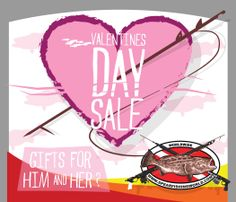Spearfishing World is having a Valentines Day Sale!  Get 15% off your order,no order minimum. Hurry, sale ends the 14th @ midnight.  Use code: Valentines at check out.  #valentines #valentinessale #sale #spearfishing #freediving