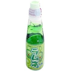japanese soda with marble | Asian Beverages » Ramune Soda » Hata Ramune Soda Melon 6.6 oz (MY FAVORITE KIND)