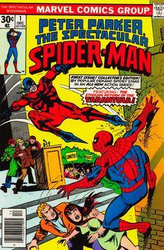 Peter Parker, The Spectacular Spider-Man Vol 1 #1