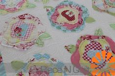 Piece N Quilt: French Roses and free motion quolting pattern