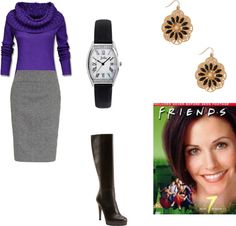 """""""Monica Geller"""" by ksoucy ❤ liked on Polyvore"""