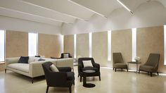 Nulty - The Wellness Clinic, Harrods - Calm Relaxing Interior Architectural Lighting Integrated Wall Illumination Window Effect