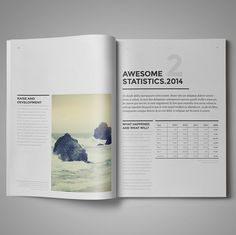 Design Marketing Brochure / A4 and US Letter on Behance in Annual reports