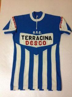 MAGLIA CICLISMO VINTAGE LANA LANETTA BICI SHIRT CYCLING JERSEY WHOOL TERRACINA   eBay
