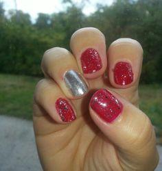 Ohio State Nailsd3 Ohio State Pinterest Ohio State Nails