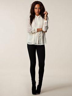 Simone Shirt - Vero Moda - Offwhite | Nelly.com