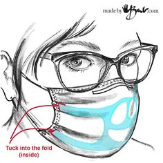 DIY Face Mask Support Frame - Made By Barb - great up-cycle for mask Easy Face Masks, Diy Face Mask, Sewing Tutorials, Sewing Projects, Diy Projects, Tapas, Knife Patterns, Nose Mask, Mask Template