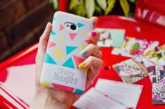 @caseable customised HTC One phone case in #shinyschool on www.shinythoughts.net