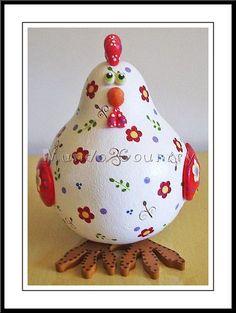 gourd chicken flowers
