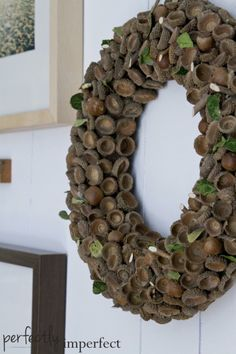 Large Acorn Wreath | perfectly imperfect