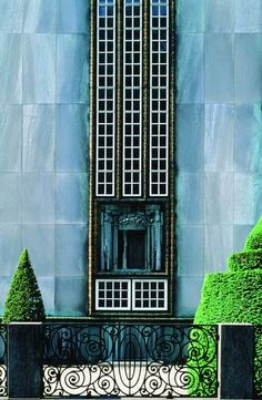 palais stoclet- facade josef hoffman #brussels #Stoclet #Hoffman #architecture #artnouveau