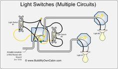 ❧ 3 way switch diagram (multiple lights between switches Traffic Light Wiring Diagram wiring multiple switches to multiple lights diagram