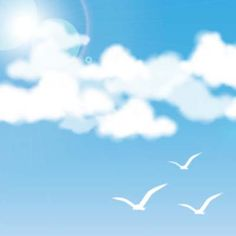 Create a Quick and Easy Tranquil Sky in Adobe Illustrator