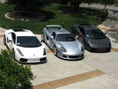 Lamborghini Porsche #Garage