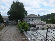 Village Vizitsa in Mount Pelion Greece, Sidewalk, Explore, Places, Greece Country, Side Walkway, Walkway, Walkways, Lugares