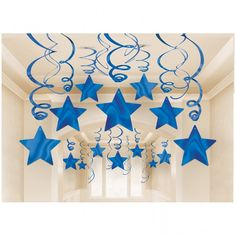 Details of 30 Blue Shooting Stars Whirlwind Decorations Graduations / Birthday Supplies – No Translation - Decoration For Home Star Decorations, Birthday Party Decorations, 1st Birthday Parties, Christmas Decorations, Hanging Decorations, Graduation Party Supplies, Birthday Supplies, Deco Nouvel An, Star Party