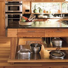 80 Tasty Kitchens | Wrapped In Wood | SouthernLiving.com