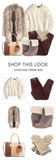 """Без названия #532"" by nastiabigatty ❤ liked on Polyvore featuring J.Crew, Levi's, Kate Spade, GUESS and Hermès"