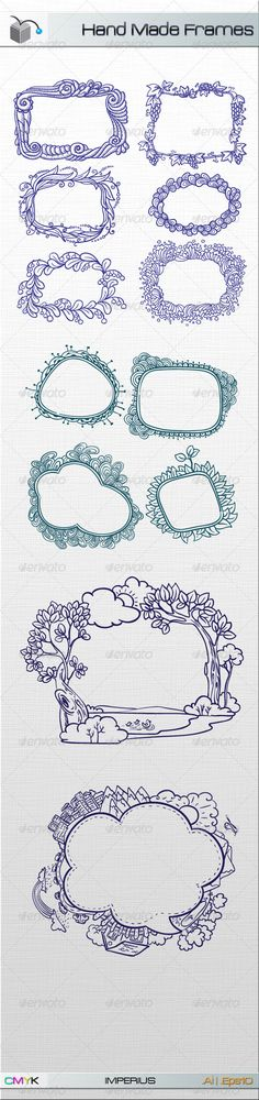 Hand Made Frames - GraphicRiver Item for Sale