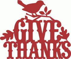 View Design #69005: give thanks birds leaves decoration